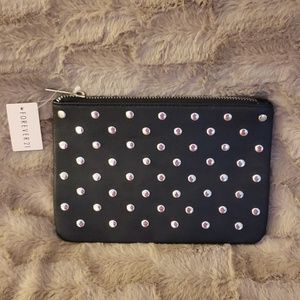 Forever 21 Black Clutch NWT